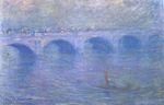 Клод Моне Мост Ватерлоо в тумане 1901г