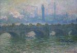 Клод Моне Мост Ватерлоо 1901г 100х65см