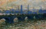 Клод Моне Мост Ватерлоо 1902г
