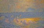 Клод Моне Мост Ватерлоо 1903г
