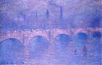 Клод Моне Мост Ватерлоо, затуманенное солнце 1903г 100х65.