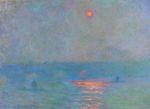 Клод Моне Мост Ватерлоо, затуманенное солнце 1903г