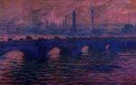 Клод Моне Мост Ватерлоо, пасмурная погода 1901г