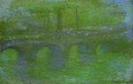 Клод Моне Мост Ватерлоо, рассвет 1901г