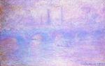 Клод Моне Мост Ватерлоо, туман 1903г
