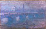 Клод Моне Мост Ватерлоо, туманное утро 1901г