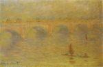 Клод Моне Мост Ватерлоо, эффект солнечного света 1902г