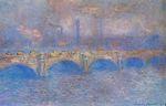 Клод Моне Мост Ватерлоо, эффект солнечного света 1903г