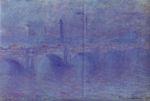 Клод Моне Мост Ватерлоо, эффект тумана 1903г Эрмитаж С-Петербург