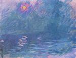 Клод Мон Мост Ватерлоо 1901г