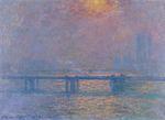 Клод Моне Мост Чаринг-Кросс, Темза 1903г
