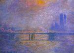 Клод Моне Мост Чаринг-Кросс, Темза2 1903г