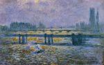 Клод Моне Мост Чаринг-Кросс, отражениев Темзе 1901г