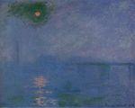 Клод Моне Мост Чаринг-Кросс, туман на Темзе 1903г