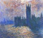 Клод Моне Вестминстерский дворец. Отражение в Темзе 1905г