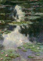 Клод Моне Водяные лилии 1907г