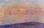 Клод Моне Дворец Дожей, вид с Сан-Джорджо Маджоре 1908г