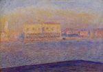 Клод Моне Дворец Дожей, вид с Сан-Джорджо Маджоре, Венеция 1908г