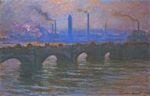 Клод Моне Мост Ватерлоо, пасмурная погода 1904г