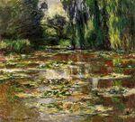 Клод Моне Японский мостик (Мостик над прудом с водяными лилиями) 1905г