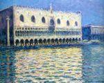 Клод Моне The Palazzo Ducale 1908г
