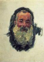 Клод Моне Автопортрет 1917г