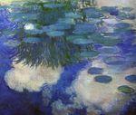 Клод Моне Водяные лилии 1914г