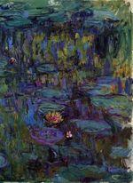 Клод Моне Водяные лилии 1917г
