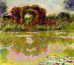Клод Моне Розовая арка в Живерни 1913г