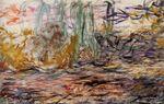 Клод Моне Водяные лилии (левая половина) 1920г