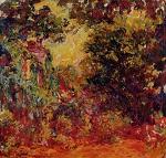 Клод Моне Дом художника, вид из розового сада 1924г