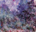 Клод Моне Дом, вид из розового сада 1924г