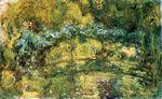 Клод Моне Японский мостик (Мостик над прудом с водяными лилиями) 1919г