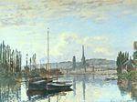 Клод Моне Вид Руана 1872г