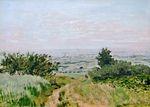 Клод Моне Вид на равнину Аржантёя 1872г
