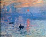 Клод Моне Впечатление. Восход солнца 1872г