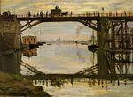 Клод Моне Деравянный мост 1872г