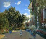 Клод Моне Дом художника в Аржантёе 1873г