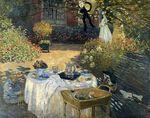 Клод Моне Завтрак 1873г