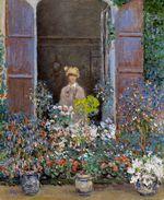 Клод Моне Камилла Моне у окна, Аржантёй 1873г