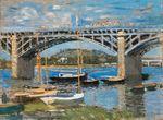 Клод Моне Мост через Сену 1874г