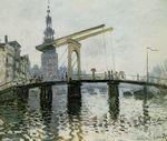 Клод Моне Мост, Амстердам 1874г