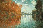 Клод Моне Осенний эффект в Аржантёе 1873г