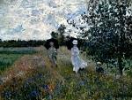Клод Моне Прогулка близ Аржантёя 1873г
