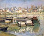 Клод Моне Сена в Аcньере 1873г