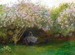 Клод Моне Сирень, пасмурная погода 1872г 65х50
