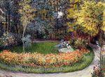 Клод Моне В саду 1875г