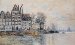 Клод Моне Вид Амстердама 1874г