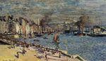 Клод Моне Вид на старую внешнюю гавань в Гавре 1874г
