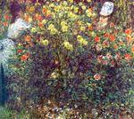 Клод Моне Девушки в саду 1875г
